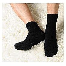 Slaxry Unisex Winter Warm Comfortable Fluffy Cashmere Socks Soft Fuzzy Floor Socks