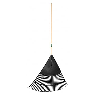 Union Tools Leaf Rake, 30 Tines, Wood, 30 in.W Tines 64169GR - 1 Each: Home Improvement