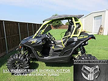 2015-2018 Can Am Maverick Turbo & Max 2/4 seater Warrior Riser Snorkel