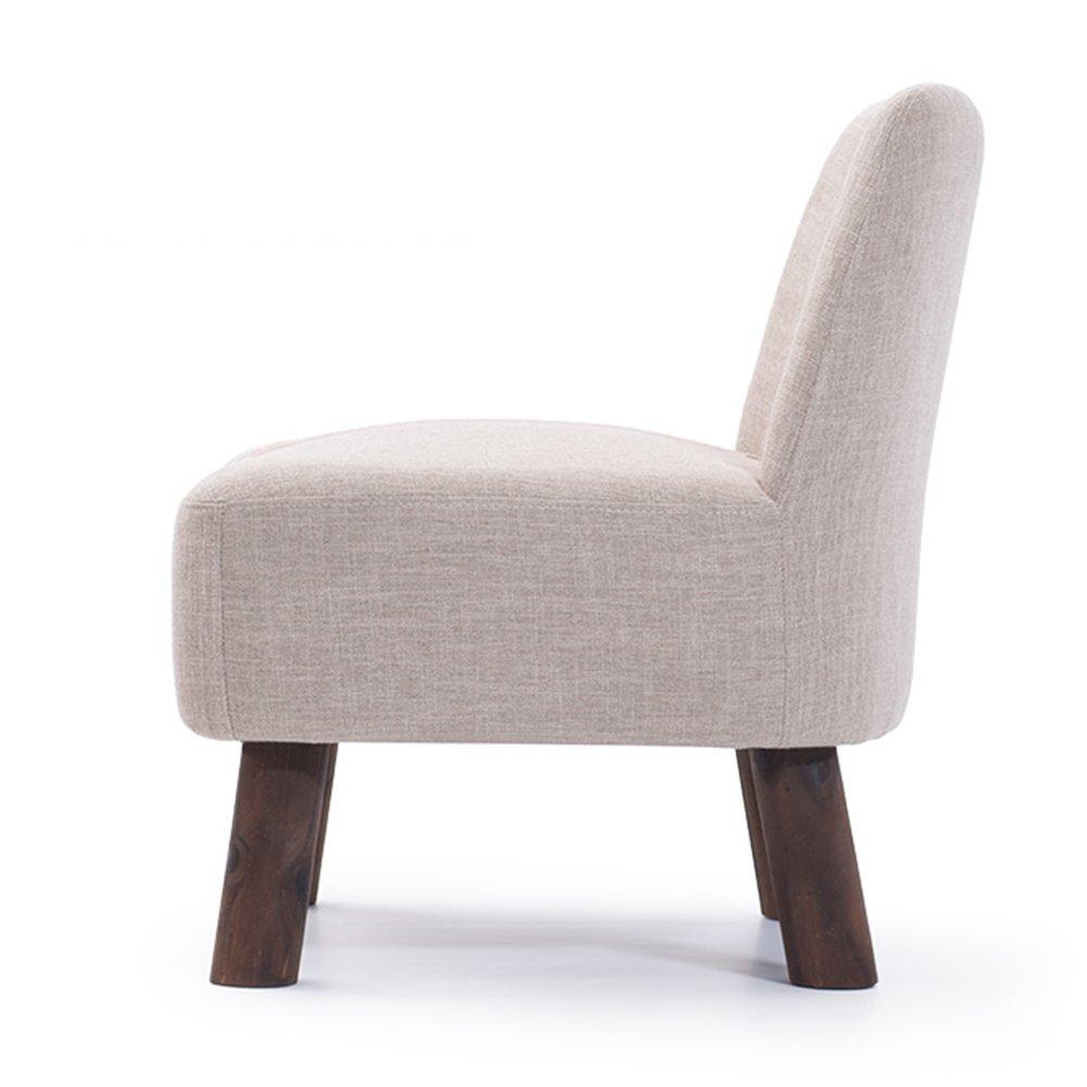 ZEMIN ダイニングチェア椅子の木の木製折り畳み 椅子ソファーシートスツールテーブルポータブル木製ソリッドウッドパディングクリエイティブショート安定多機能、4色Availabler、55X53X60.5CM ( 色 : B ) B078RK5SBZB