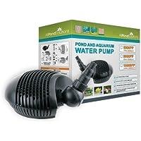 Sumergible Jardín Agua Bomba Para Estanque Filtro 8000L/H Para Todos Los Estanques 8000PP