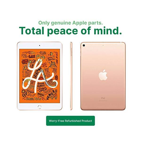 "Apple iPad Mini | 7.9"" | 5th GEN | WI-FI | 64GB | Gold | 2019 | (Renewed) 3"