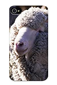 D8e5e781206 Tough Iphone 4/4s Case Cover/ Case For Iphone 4/4s(merino Sheep) / New Year's Day's Gift