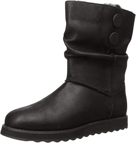 SKECHERS Womens Keepsakes 2.0 Upland Boots Black
