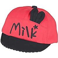 Lovinda Bebé Visor Sombrero Gorra de Béisbol Moda Milk Bebé Niño Niña  Sombrero de Sol Protección 94e51c07e39