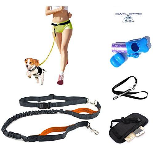 Stretchable Puppy Dog Leash Harness (Orange) - 2