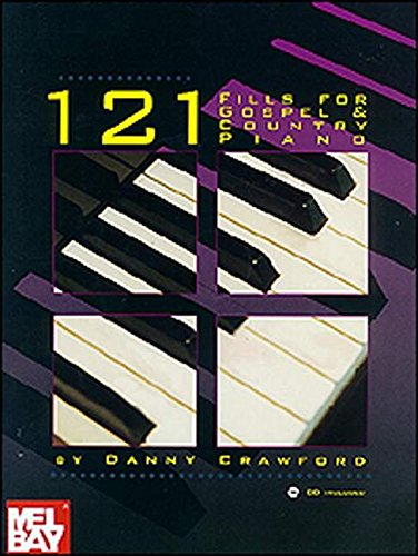 Mel Bay 121 Fills for Gospel & Country Piano (Book/CD (Country Sets Piano)