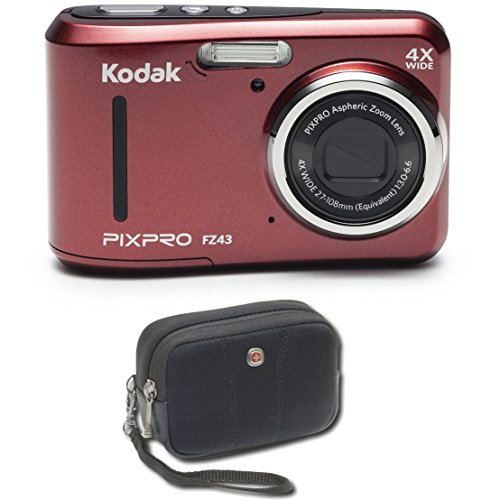 Kodak PIXPRO Friendly Zoom FZ43 16 MP Digital Camera with 4X Optical...