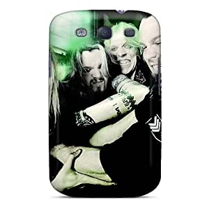 Shock-Absorbing Cell-phone Hard Covers For Samsung Galaxy S3 With Support Your Personal Customized Realistic Apocalyptica Band Series TimeaJoyce