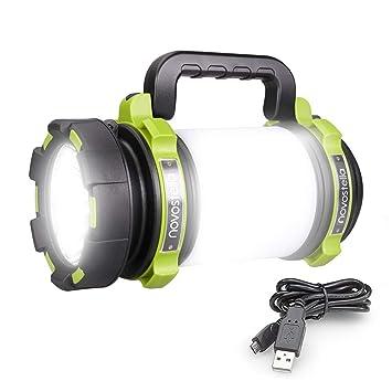 Novostella 1000 Lumens Lanterne Led Rechargeable Ultra Puissante