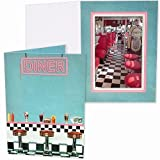 Our Vintage 1950's DINER Photo Event Folder Our price is for 25 units - 4x6