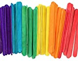 Popsicle Wood Colored Craft Stick, 4-1/2-Inch - Pack Of 240 - Ideal For Crafters, Teachers, And Students
