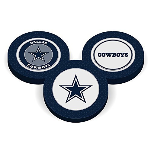 Team Golf NFL Poker Chip Ball Marker (Dallas - Poker Cowboys