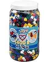 Hama - 8540 - Loisirs Créatifs - Pot 1400 Perles à Repasser - Taille Maxi