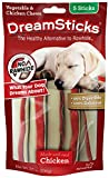 Dreamsticks, Vegetable & Chicken Chews, Rawhide Free, 5-Count