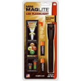 Maglite Mini LED 2-Cell AA Flashlight with Holster, Black фото