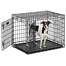 MidWest Ulitma Pro Extra Strong Double Door Folding Metal Dog Crate