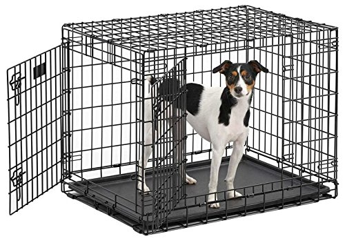 ulitma-pro-professional-series-most-durable-midwest-dog-crate-extra-strong-double-door-folding-metal