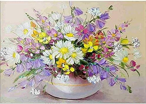 5D DIY Full Drill Diamond Painting Flower Embroidery Mosaic Craft Kit Decor $S1