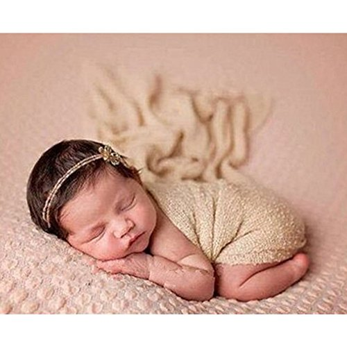 Golden Wrap (Newborn Baby Infant Photography Photo Props Boy Girl Outfits Wrap-10 colors)
