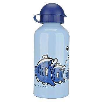 kinder trinkflasche blau