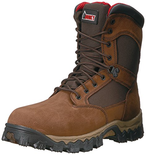 Rocky Alphaforce Boots (Rocky Men's RKK0184 Construction Boot, Brown, 12 M US)