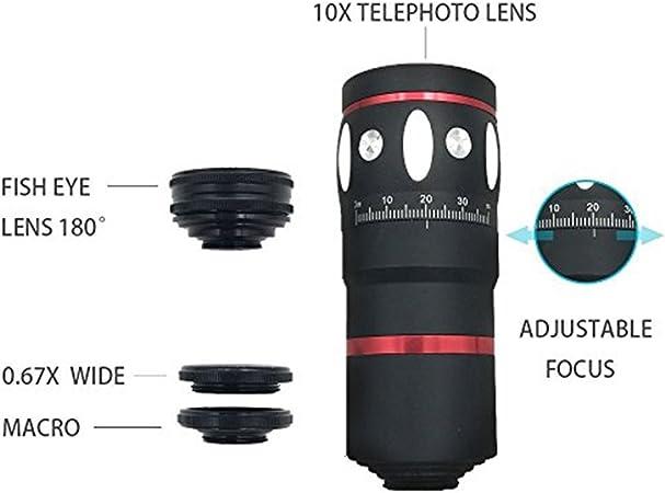 Objetivo de cámara de teléfono Lingwei, con gran angular, ojo de ...