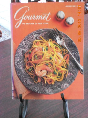 Gourmet Magazine Covers - Gourmet the Magazine of Good Living (Paperback - January, 1988)