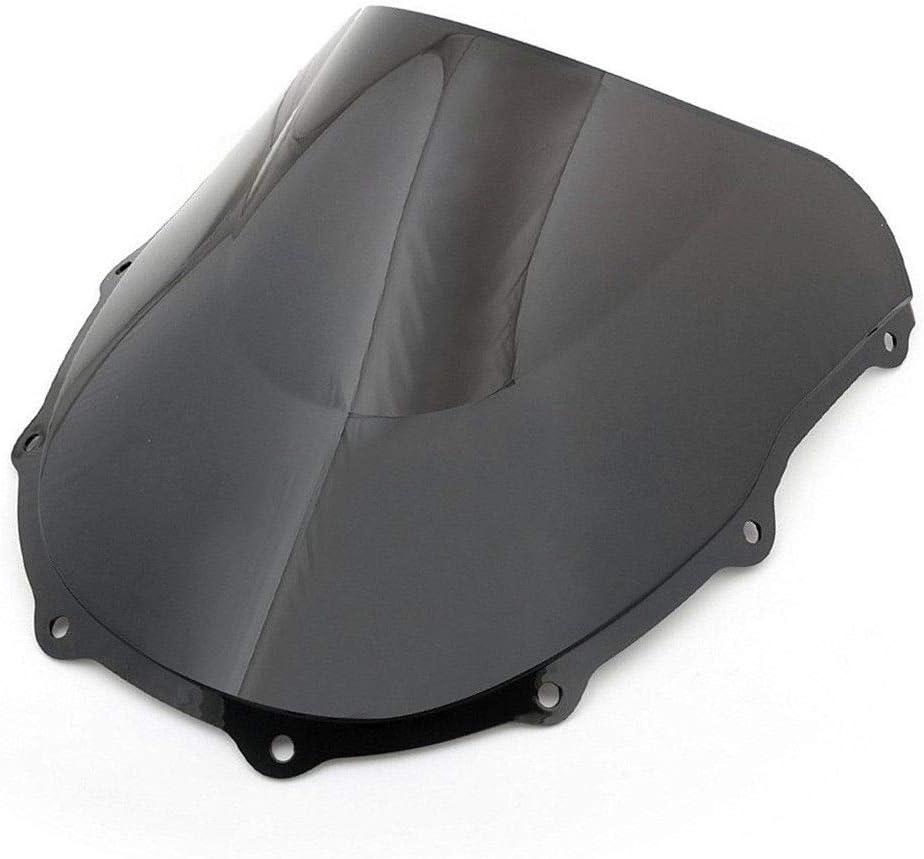 Pare-brise de pare-brise de moto /à double bulle pour Ninja ZX7R ZX 7R 750P 1996-2003 Noir