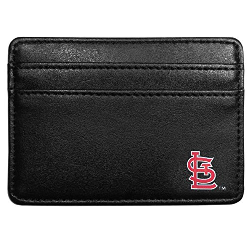 Siskiyou MLB St. Louis Cardinals Leather Weekend Wallet, Black
