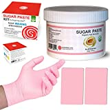 Hair Removal With Sugar Paste - Sugaring Hair Removal Kit by Sugaring NYC - Best Waxing Alternative 100% Certified Organic