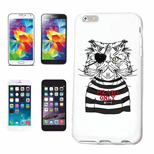 """cas de téléphone iPhone 6S """"CAT PERSAN DEGUISEE AS ??PIRATE AVEC PATCH EYE CAT DOMESTIQUE CAT PERSAN WILDCAT angora Siamese Bengal BENGAL"""" Hard Case Cover Téléphone Covers Smart Cover pour Apple iPhon"""