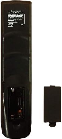 HUAYU RM-L1120+X - Mando a distancia universal para televisores (LED, LCD, plasma), color negro: Amazon.es: Electrónica