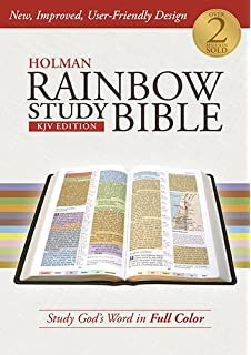 holman rainbow study bible kjv edition hardcover - The Color Code Book
