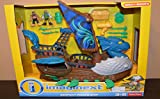 Imaginext Blue Serpent Pirate Ship Playset from Fisher-Price