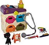 B. Pet Vet Toy Doctor Kit for Kids Pretend Play (8 pieces)