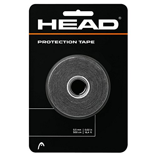 HEAD Racket Protection Tape - Racquet Guard - 16' Roll, Black