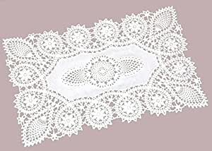 Amazon Com Crochet Place Mats Vinyl Crochet Reusable