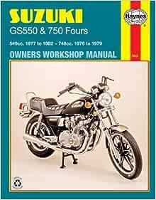 VINTAGE SUZUKI GS550 4-STROKE FOUR MOTORCYCLE BANNER