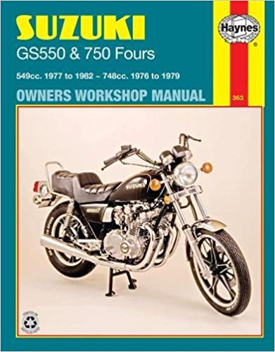 suzuki gs750 gs 750 1977 repair service manual