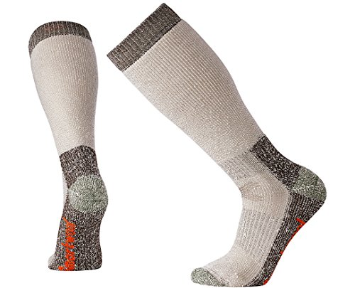 SmartWool Men's Hunt Extra Heavy Over the Calf Socks (Taupe) - Smartwool Knee Warmers