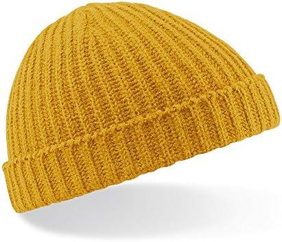 Beechfield Retro Trawler Winter Beanie Hat Cappellino da Baseball Unisex-Adulto