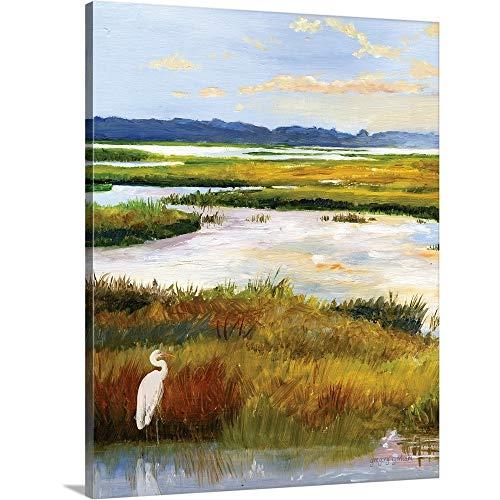 Salt Marsh Sanctuary I Canvas Wall Art Print, 16