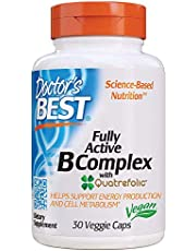 Doctor's Best Fully Active B Complex Nutritional Supplement