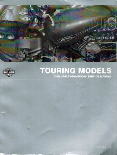 2009 Harley-Davidson Touring Models Service Manual, Part Number 99483-09