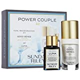 Sunday Riley Power Couple Total Transformation Kit with Good Genes and Luna Oil by Sunday Riley
