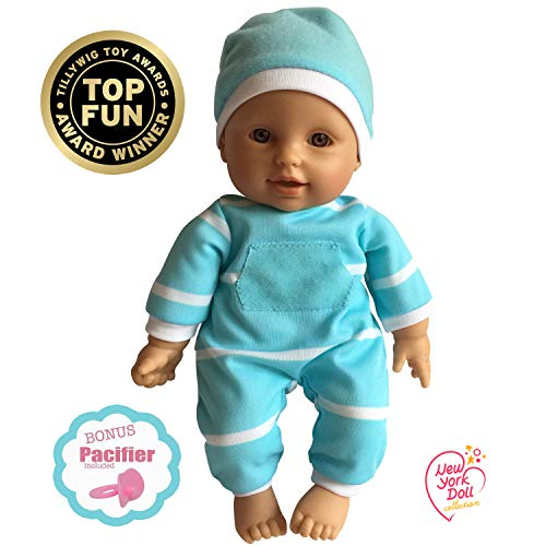 "11 inch Soft Body Doll in Gift Box - Award Winner & Toy 11"" Baby Doll (Hispanic)"