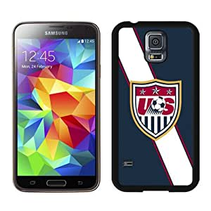USA Soccer 4 Black Case for Samsung Galaxy S5 i9600,Prefectly fit and directly access all the features