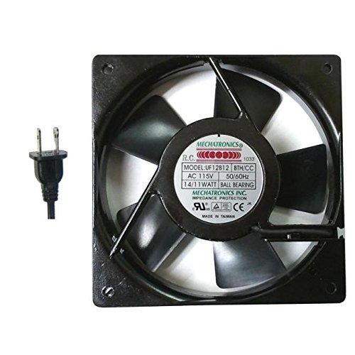 Mechatronics 120x120x25mm High Speed Fan with Conformal Coating UF12B12-BTHR/CC by Mechatronics