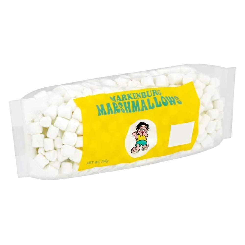 Markenburg Mini White Marshmallow 250g (628MART) (1 Pack)